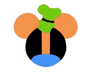 Disney Goofy iron on Appliqué