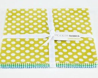 Michael Miller Modern Basics Ocean 10 Inch Squares - 45 Pieces