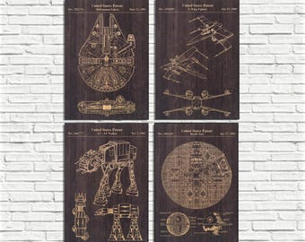 Movie Poster patent print Wood wall art Movie print for Boyfriend gift for Men gift for Husband gift for Kids gift for him Panel effect sign