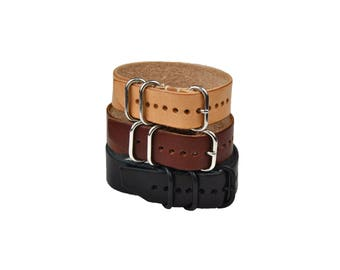 Leather Watch Strap, Universal Watch Strap