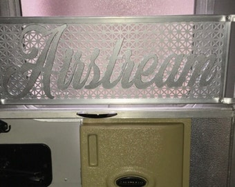 Airstream Metal art