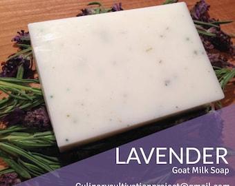 Organic Lavender Goat Milk Soap