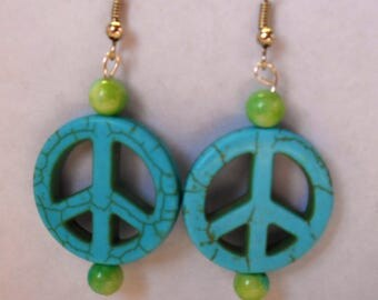 Green and Teal Peace
