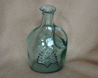 Vintage Glass Cruet; Canadian Glass