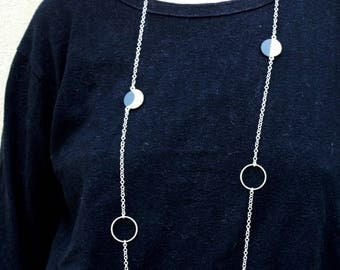 Necklace moon phases