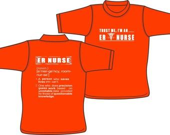 ER NURSE Precision Guess Work T-shirt
