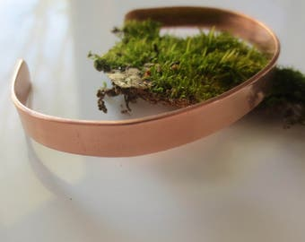 1/4 in, Medium/Large Size, Copper Healing Bracelet