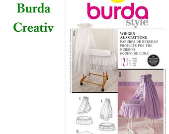 Burda 1980, Projects for the nursery, coverlet casing, new, uncut, never used