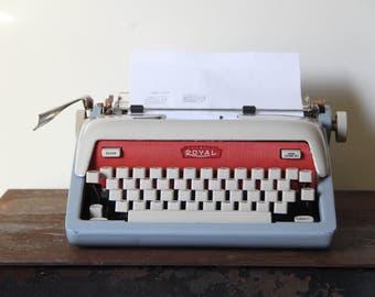 Vintage Royal futura 800, typewriter, Americana royal, Vintage Typewriter, Royal Typewriter, Working Vintage Typewriter