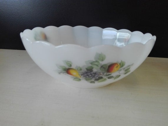 Arcopal bowl, Fruits de france, 20 centimeter