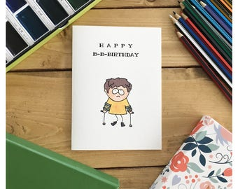 SOUTH PARK CARD // South Park, birthday card, funny birthday card, funny card, greeting card, happy birthday