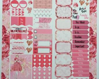 Love Blooms Personal Planner Sticker Kit:
