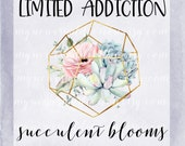 Succulent Blooms Foiled Sticker Set || Limited Edition || NO COUPON CODES