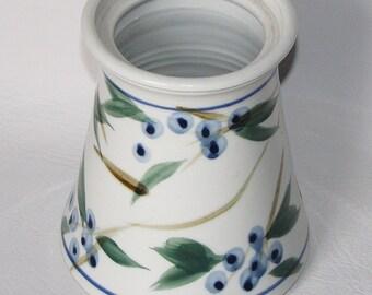 Handmade Large Ceramic Vase, Hand Turned Pottery, Stoneware
