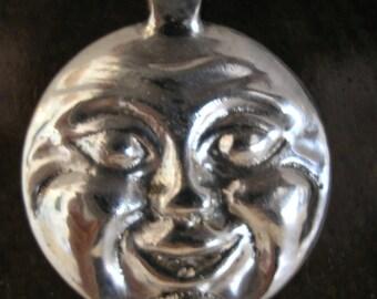 Moon Silver Pendant