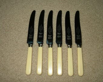 Vintage Sheffield Knives~Set of 6~Made In England