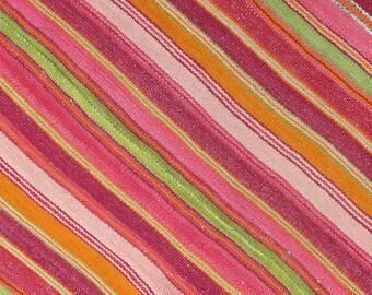 SALE ///Peruvian Rug // Frazada  // wool rug // handwoven rug //
