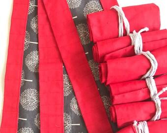 bulk order 12 crayon rolls for waldorf wax crayon rolls discounted for schools