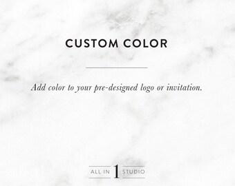 Add on Listing | Custom Color