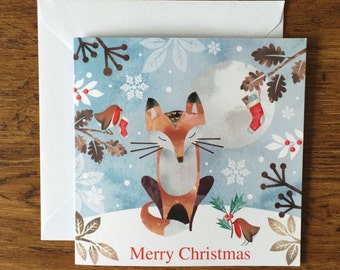 Christmas fox - Christmas Card