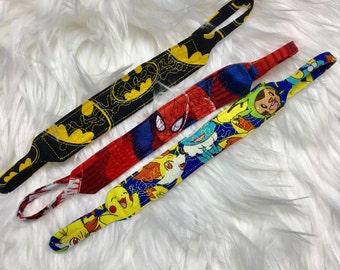 Custom boys  trach ties.