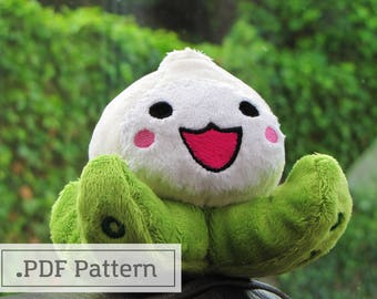 Pachimari Overwatch Plush Pattern PDF