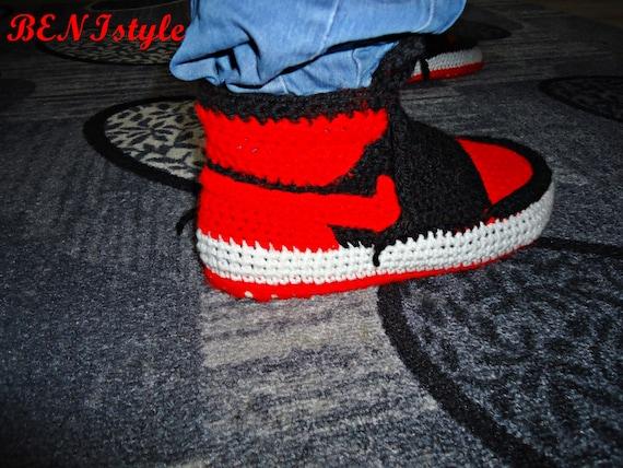 3584a7da4a5d Nike Air Jordan Shoes Crochet Converse Slippers Adult Shoes 70%OFF ...