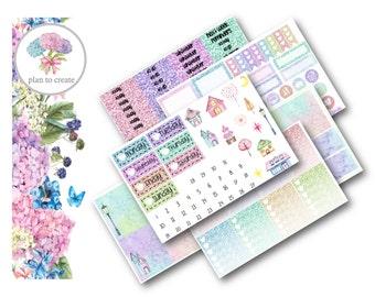 Glitter City Weekly Sticker Kit