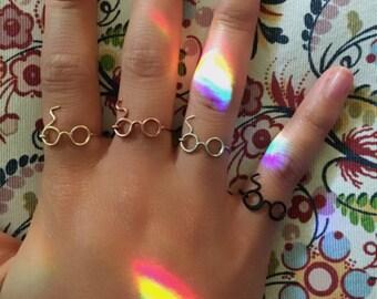 Harry Potter glasses ring