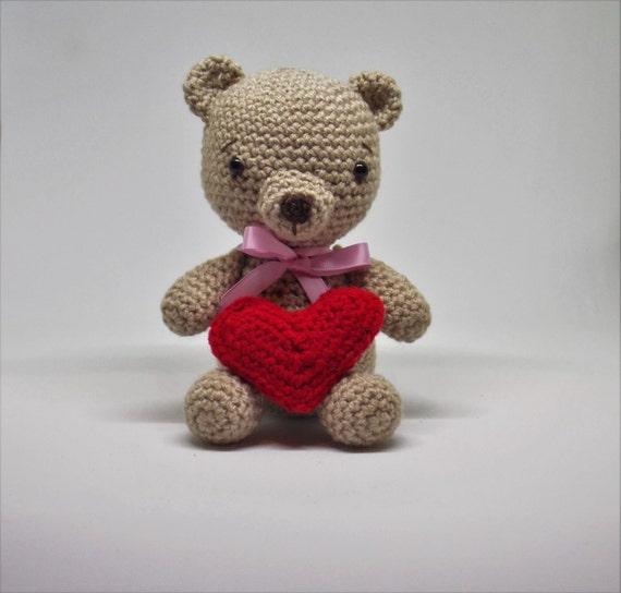 Crochet bear Amigurumi Bear crochet bear plushie Crochet