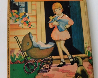 The Little Child's Story Book-1935 Vintage Children's Book
