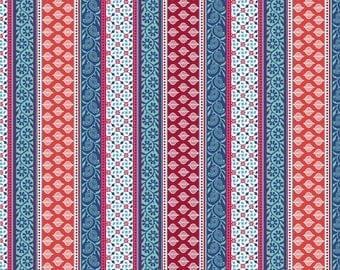 Chennai Stripe Quilting Cotton Fabric, by the Yard