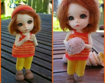 Lovely summer 3 set for Pukifee size doll # 85390
