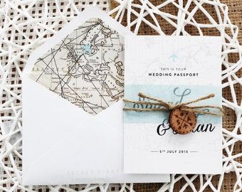 All Mapped Out - Passport Invitation