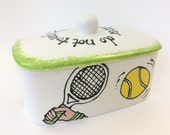 Personalised Butter Dish...