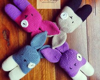 Handmade Crochet Bunny | Soft Bunny | Plush Bunny Rabbit
