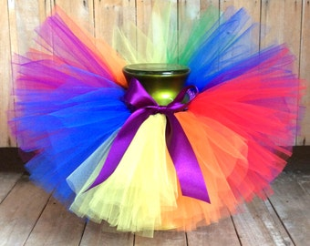 Rainbow Baby Tutu, Baby Tutu, Pride Tutu, Toddler Tutu, Newborn Tutu, First Birthday Tutu, Photo Prop Tutu, Girls Tutu,  Birthday Tutu. Tutu