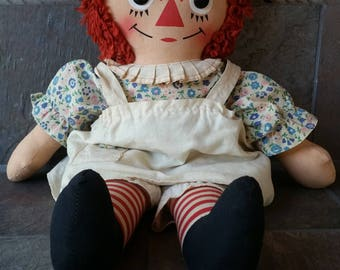 1970's Raggedy Ann Doll by Nickerbocker
