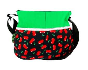 Shoulder bag cherry