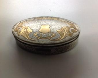 Vintage powder compact