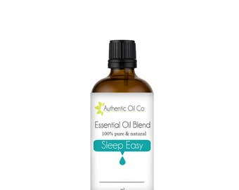 Sleep Easy Essential Oil Blend 100% Pure 10ml 50ml 100ml