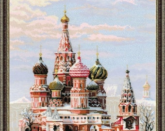 Cross Stitch Kit by RIOLIS - Moscow. St. Basil's Cathedral