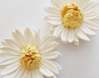 3 Gerbera Daisy Fondant Flower II 3 Gerbera Daisy Gumpaste Flower II Fondant Flower Gumpaste Flower Sugar Flower Cake Toppers Edible Flowers