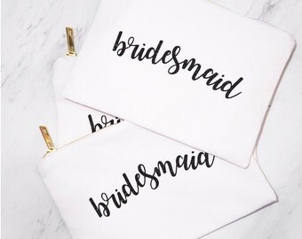 5 Bridesmaid & 1 MOH Bags