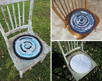Custom made chair pads, seat covers, any color you choose, made to order