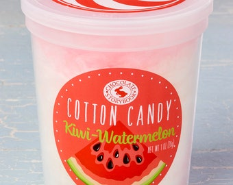 Kiwi Watermelon Cotton Candy