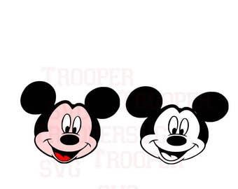 Mickey Mouse SVG, Disney SVG, Silhouette Studio svg,Cricut cut file, svg cutting file,Mickey head svg, Disneyworld svg, T-shirt design