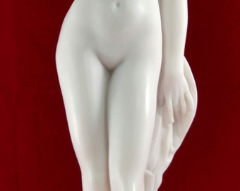 Female Nude Naked Girl  Erotic Statue Sculpture 16in (41cm)