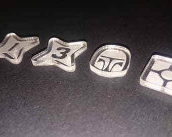 Star Wars: Destiny - Acrylic Tokens
