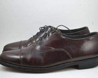 Men's Vintage Burgundy Florsheim Formal/Business Shoes Size 10C